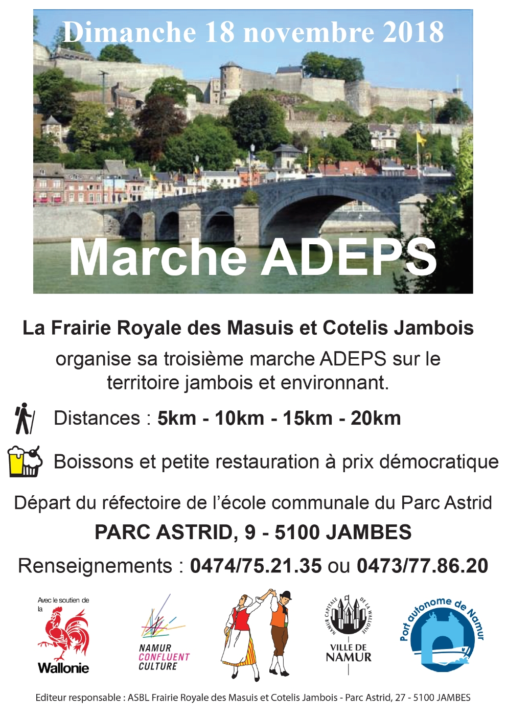 marche ADEPS 2018